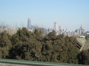 Blick zum CBD in Beijing